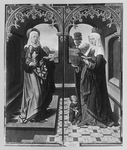 De HH. Anna-te-Drieën en Elisabeth van Thüringen