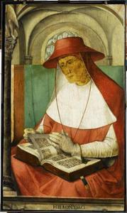 De H. Hieronymus (347-420) uit de serie 'Beroemde Mannen'