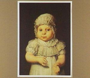 Portret van een Fries jongetje