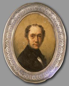 Portret van Hendrikus van de Sande Bakhuyzen (1795-1860)