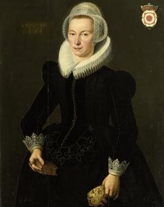 Portret van Grietje Adriaensdr. Grootes (1588-....)