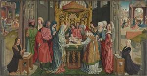 Altaar waarop Christus besneden wordt