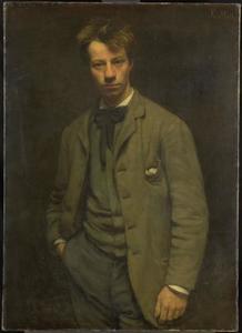 Portret van Albert Verwey (1865-1937)