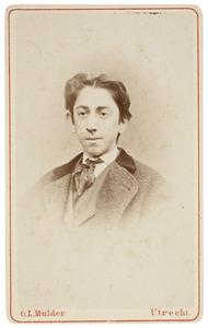 Portret van een jongeman uit familie Van de Poll