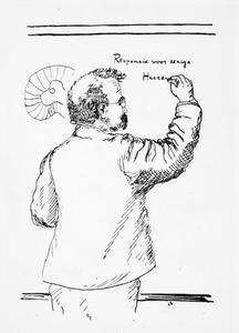 Portret van Lodewijk Bolk (1866-1930)