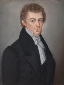 Portret van Johannes Was (1810-1852)