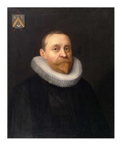 Portret van Apollonius Ingelz (....-1633)