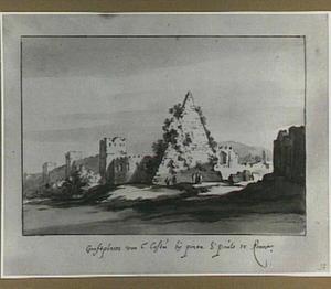 Rome, Cestius-pyramide bij de Porta San Giovanni