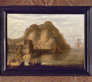 Gezicht op Gibraltar