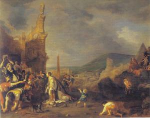Het martelaarschap van St. Stefanus (Handelingen  7:54 - 8:3)