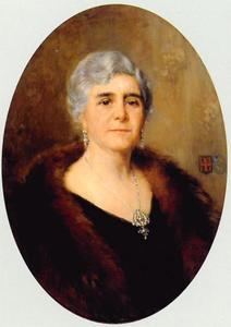 Portret van Cornelia Maria Elisabeth van Rijckevorsel (1877-1957)
