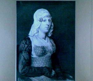 Portret van Anna de Jong (1797-1823)