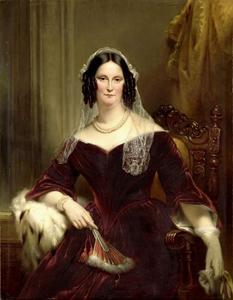 Portret van Dieuwke Fontein (1800-1897)