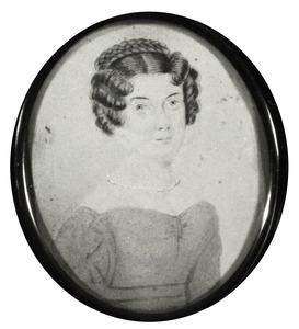 Portret van Louisa Evelina Josephina de Rij (1801-1827)