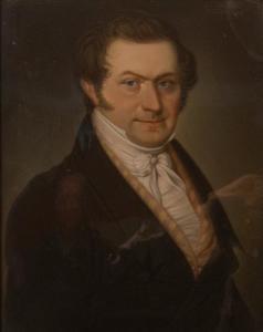 Portret van een man, waarschijnlijk Leonard Nikolaus Josef Neujan (1799-1852)