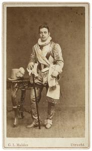 Portret van Carel Du Ry van Beest Holle (1862-1907) als Heer van Coupigny