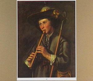 Fluitspelende herder