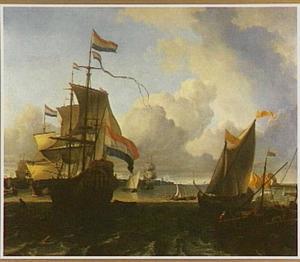 'De Gouden Leeuw' op het IJ voor Amsterdam