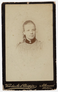 Portret van Armanda Jacoba Wttewaall (1876- )