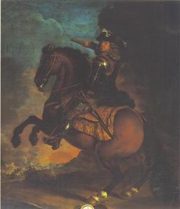 Ruiterportret van keurvorst Johann Wilhelm van de Palts
