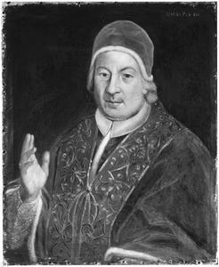 Portret van Prospero Lorenzo Lambertini (1675-1758), paus Benedictus XIV