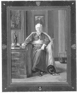 Portret van Gerardus Cornelis van Noort (1861-1946)