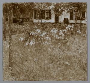 Tuin van een landhuis