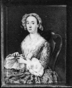 Portret van Aletta Maria van den Brande (1712-1768)