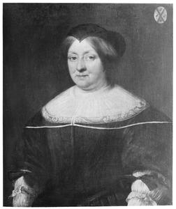 Portret van Gerarda van Sassen (1608-1678);