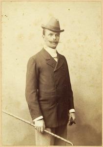 Portret van Leendert Marinus Schuurbeque Boeye (1863-1937)