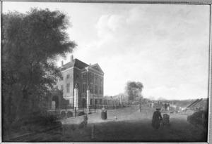 Het huis Swanenburg in Halfweg bij Haarlem