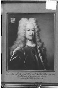 Portret van Cornelis van Aerssen (1698-1766)