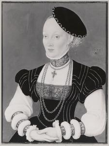 Portret van Anna van Denemarken (1532- )