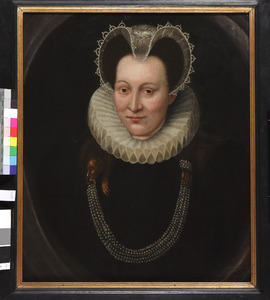 Portret van een vrouw, mogelijk Elisabeth van Giessen (?-1668)