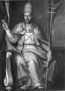 Portret van Adriaan Florisz. Boeyens (1459-1523) als paus Hadrianus VI