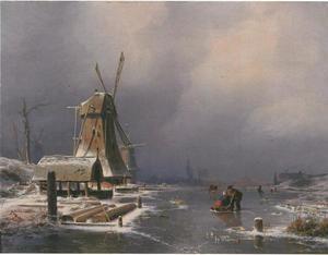 Hollands winterlandschap