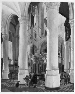 De Nieuwe Kerk te Delft met het praalgraf van Willem de Zwijger
