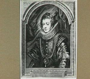 Portret van Elisabeth van Bourbon, koningin van Spanje (1602-1644)