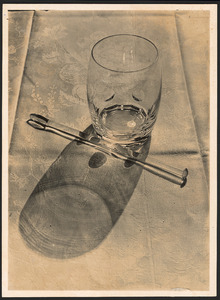 Glas en roerstaafje