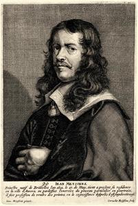 Portret van Joannes Meyssens (1612-1670)