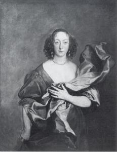 Portret van Elizabeth Barnham, Countess of Castlehaven (1592-1622), echtgenote van Mervyn Tuchet, 2nd Earl of Castlehaven