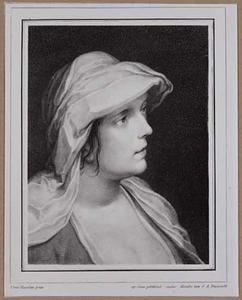 Portretje van een onbekende jonge vrouw