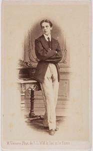 Portret van Otto Johan Willem Carel van Bylandt (1852-1929)
