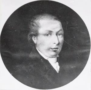 Portret van David van Stolk (1759-1787)