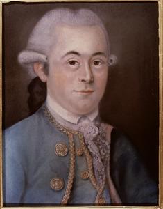 Portret van Adriaan Bertling (1746-1789)