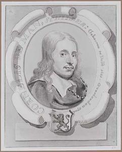 Portret van Cornelis de Man (1621-1706)
