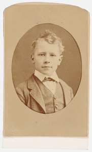 Portret van Hendrik Petrus van Stralen (1865- )