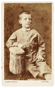 Portret van August Margaretha Rümke (1868-1899)