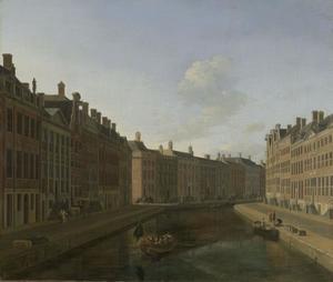 De bocht van de Herengracht te Amsterdam