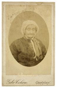 Portret van Elizabeth Klazes Bakker (1815-1898)